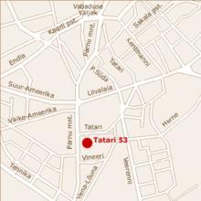 Tatari 53 in Tallinn