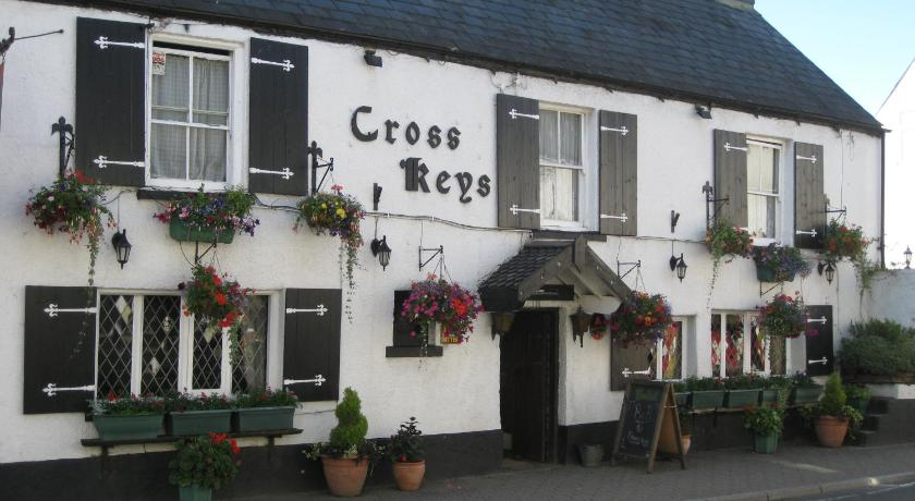 The Crosskeys Inn in Llanover