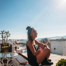 The Melting Pot Rooftop Hostel in Tangier
