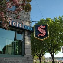 The Sylvia Hotel in Vancouver