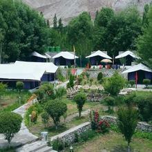 Valley Flower Camp in Hundar