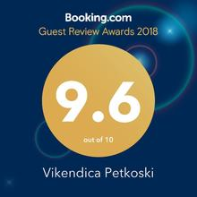 Vikendica Petkoski in Ohrid