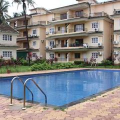 2BHK Spacious Apartment with Pool View in Calangute in Calangute