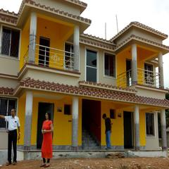 A G Villa in Shantiniketan