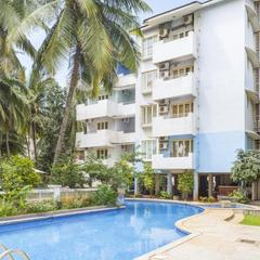 Apartment With A Pool In Calangute, Goa, By Guesthouser 37891 in Calangute