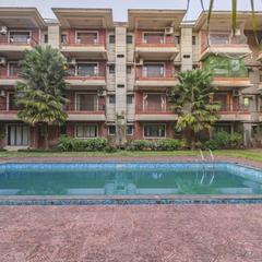 Apartment With A Pool In Calangute, Goa, By Guesthouser 61097 in Calangute