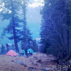 Cafe kutla inn & camping point in Mosh