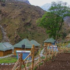 Camp Lungta in Dharamshala