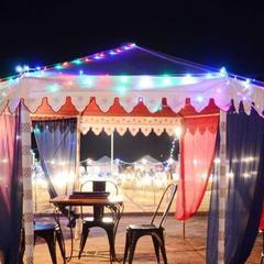 Funkyard desert camp safari in Sim