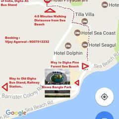 Hotel Priyadarshi in Digha