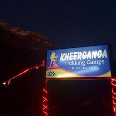 Kheer Ganga Trekking Camps in Kasol