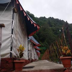 The Blue Camp Barot in Kasambal