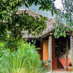 The Vanghat Lodge in Corbett