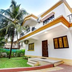 Villa With A Pool In Vagator, Goa, By Guesthouser 67472 in Arpora