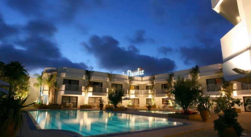 Le Dawliz Hotel Spa In Rabat
