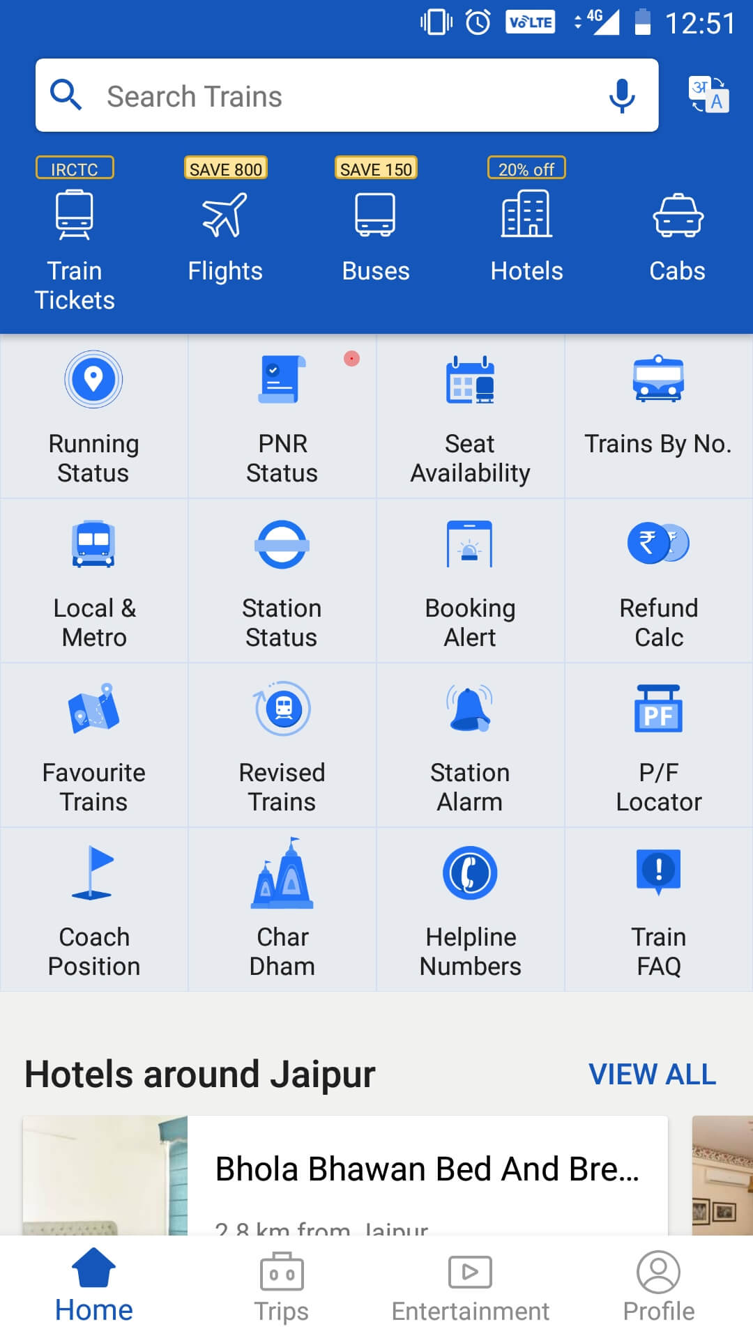 ixigo mobile apps - get the best travel apps for India