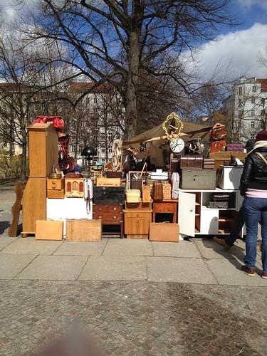 Arkonaplatz fleamarket