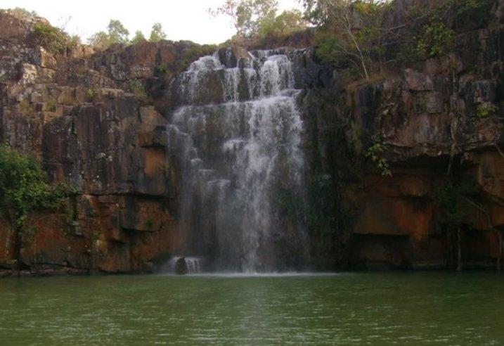 Badaghagara and Sanaghagra waterfalls