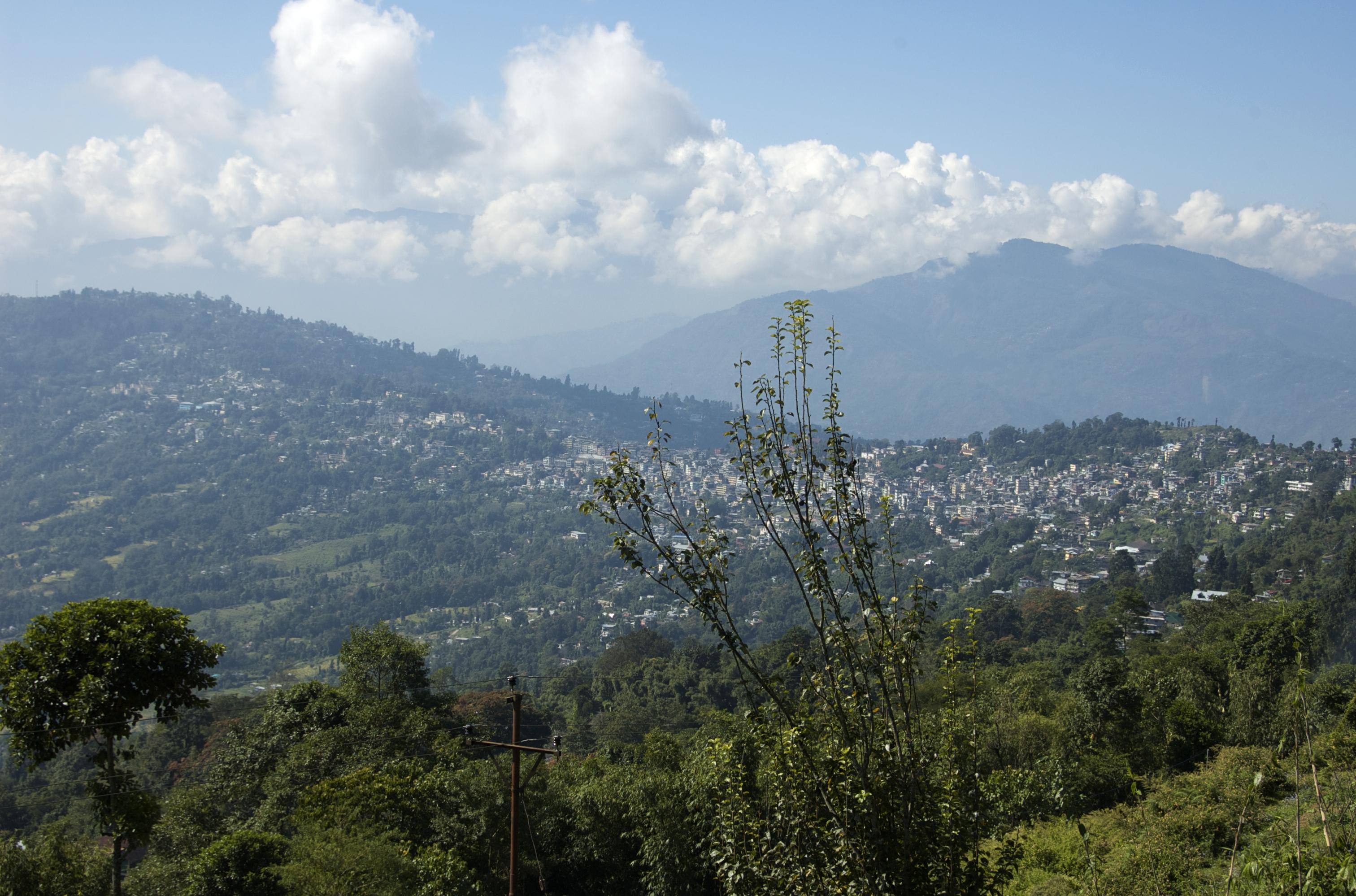 Biking in Kalimpong