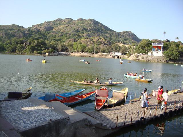 Boating at Nakki Lake
