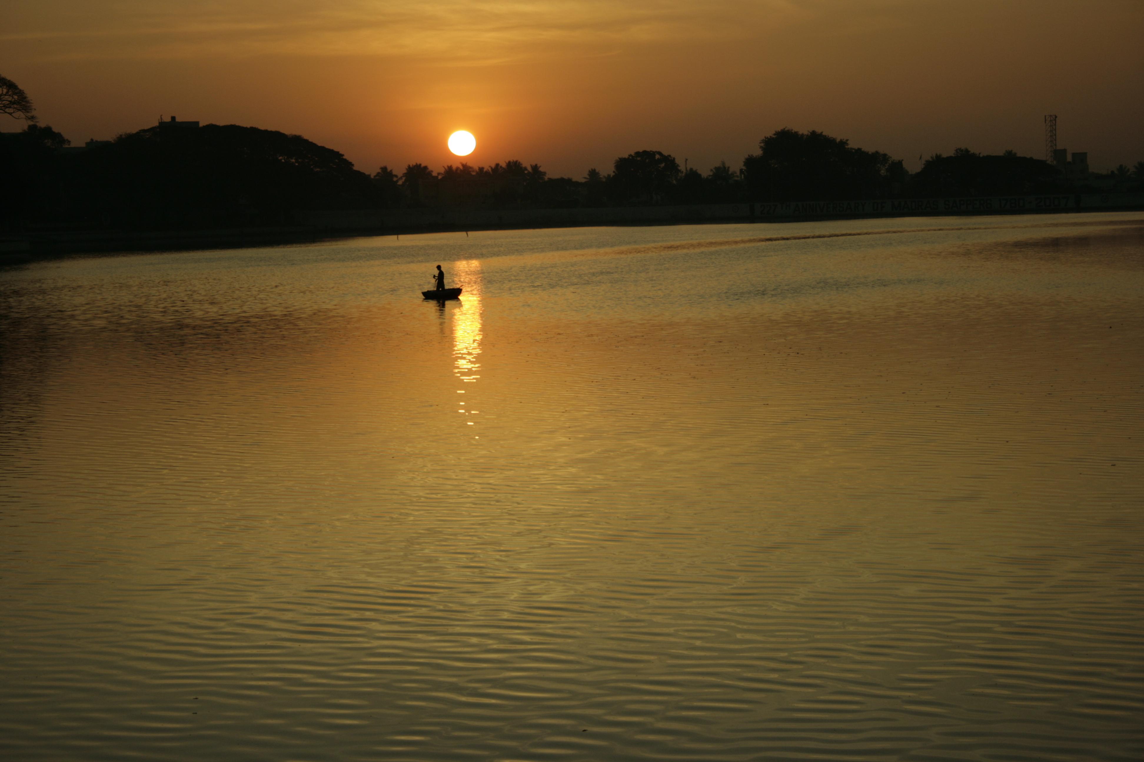 Boating on Ranchi Lake