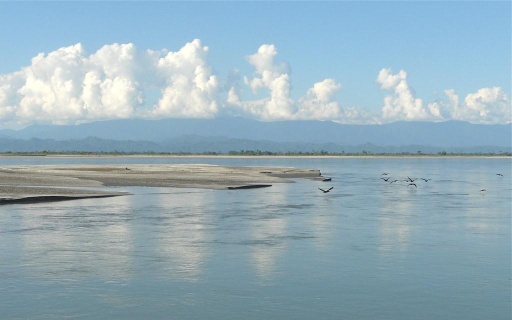 Brahmaputra River Side