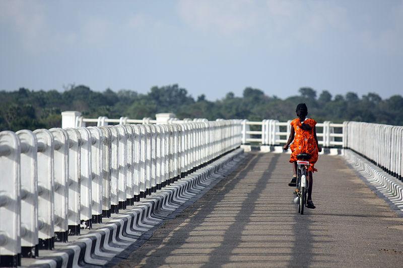 Cycling through Mahabalipuram