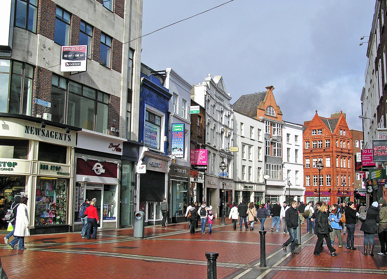 Enjoy a stroll at Grafton Street