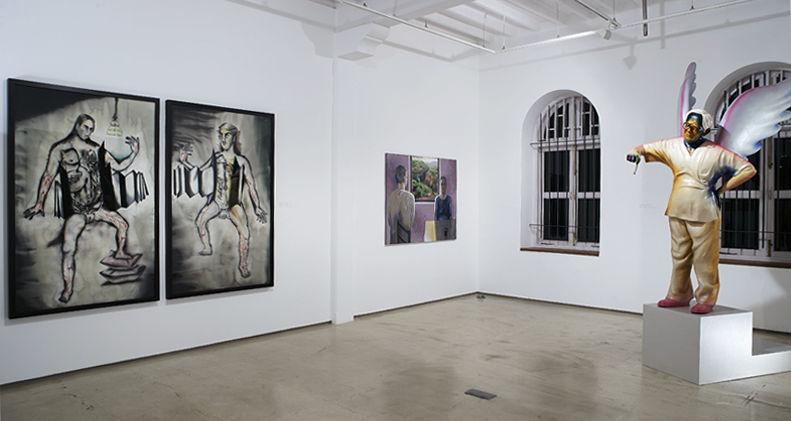 Galerie Mirchandani- Steinruecke