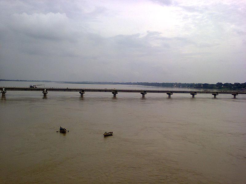 Holy dip in river Ganga