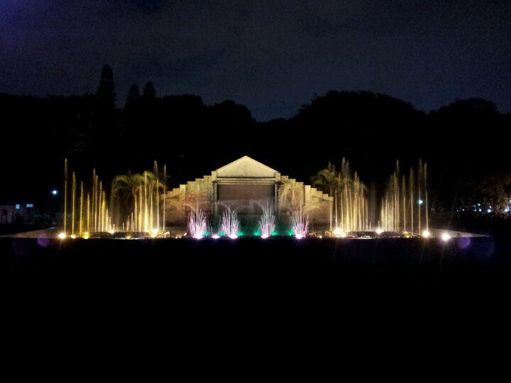 Indira Gandhi Musical Fountain