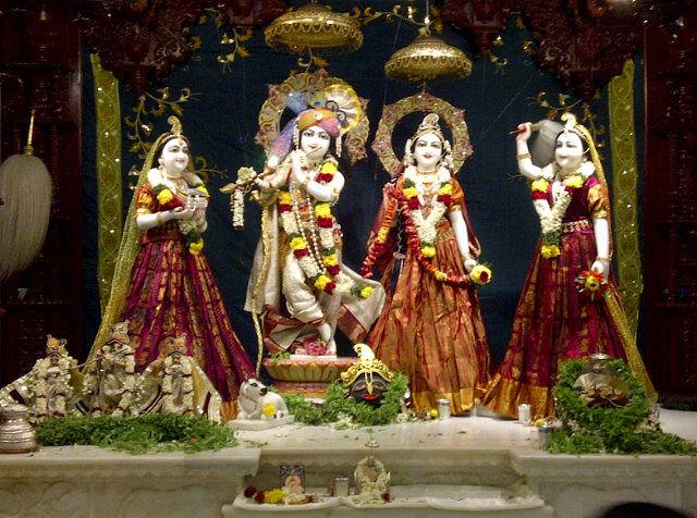 ISKCON (Hare Rama Hare Krishna) Temple