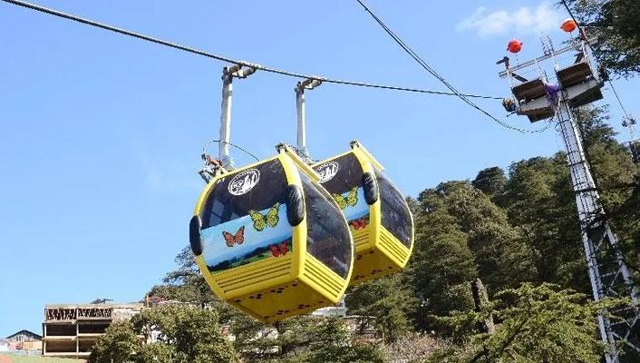 Jakhu Ropeway Ride Shimla