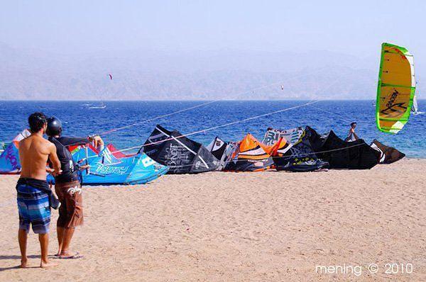 Kitesurfing At Sea Wave Resort