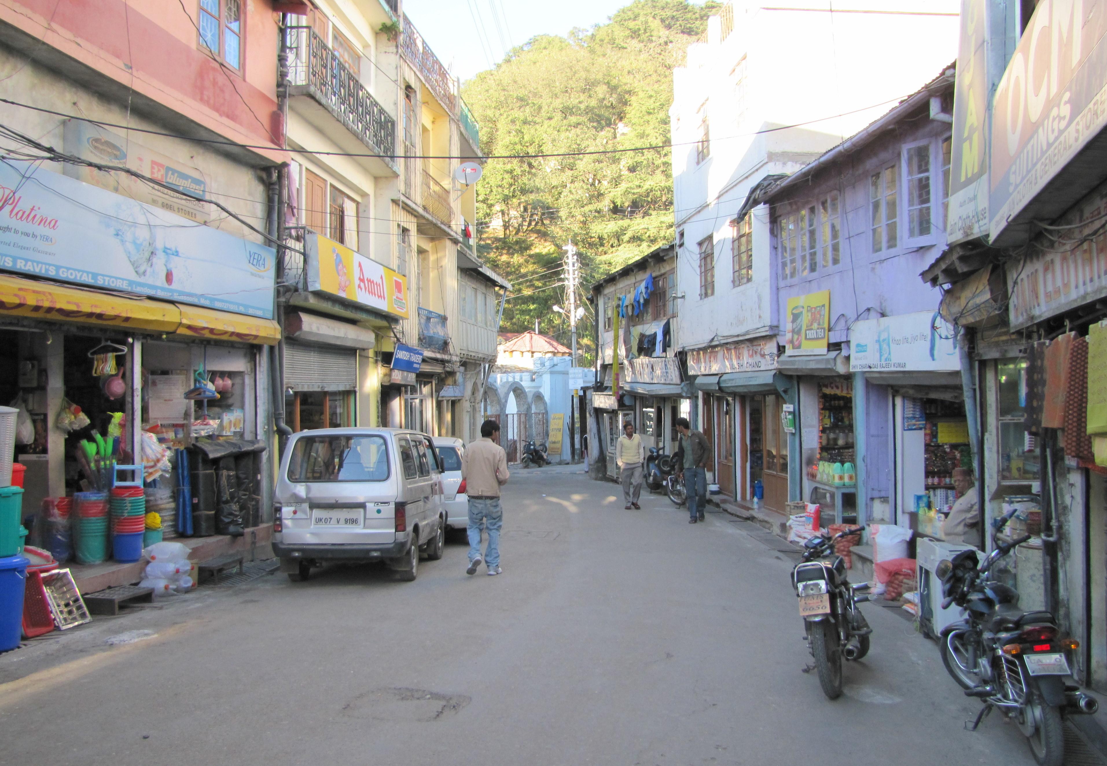 Landour Bazaar
