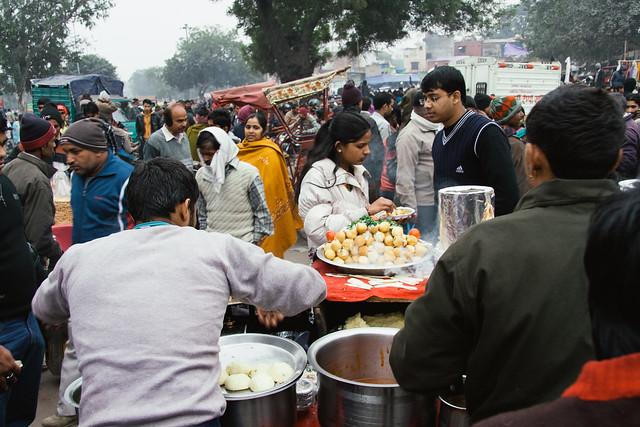 Local Food at Dargah Bazar