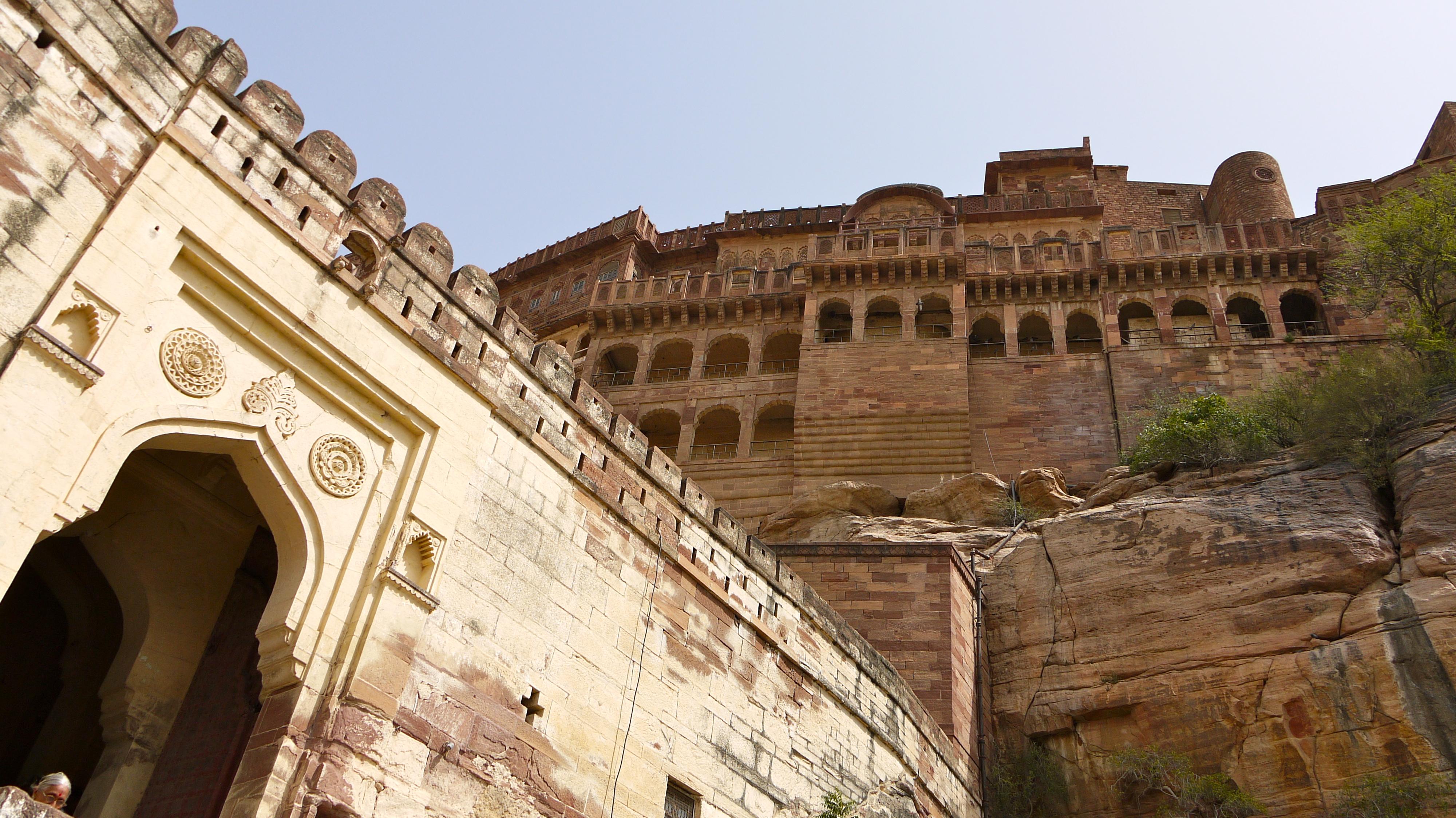 Mehrangarh Gate