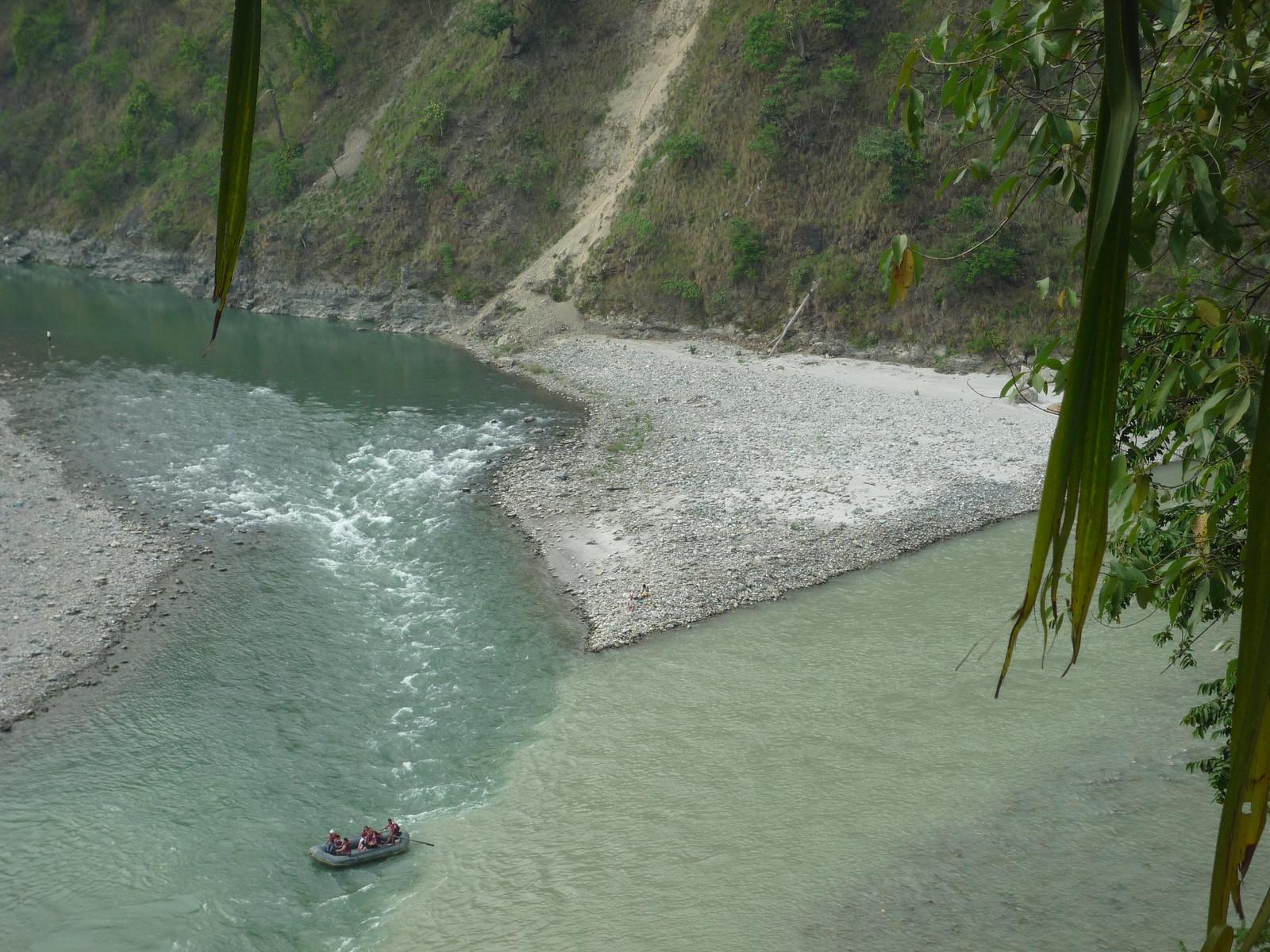 Rafting, Kalimpong