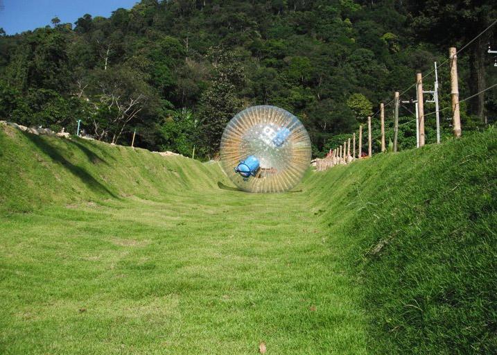 Rollerball Zorbing