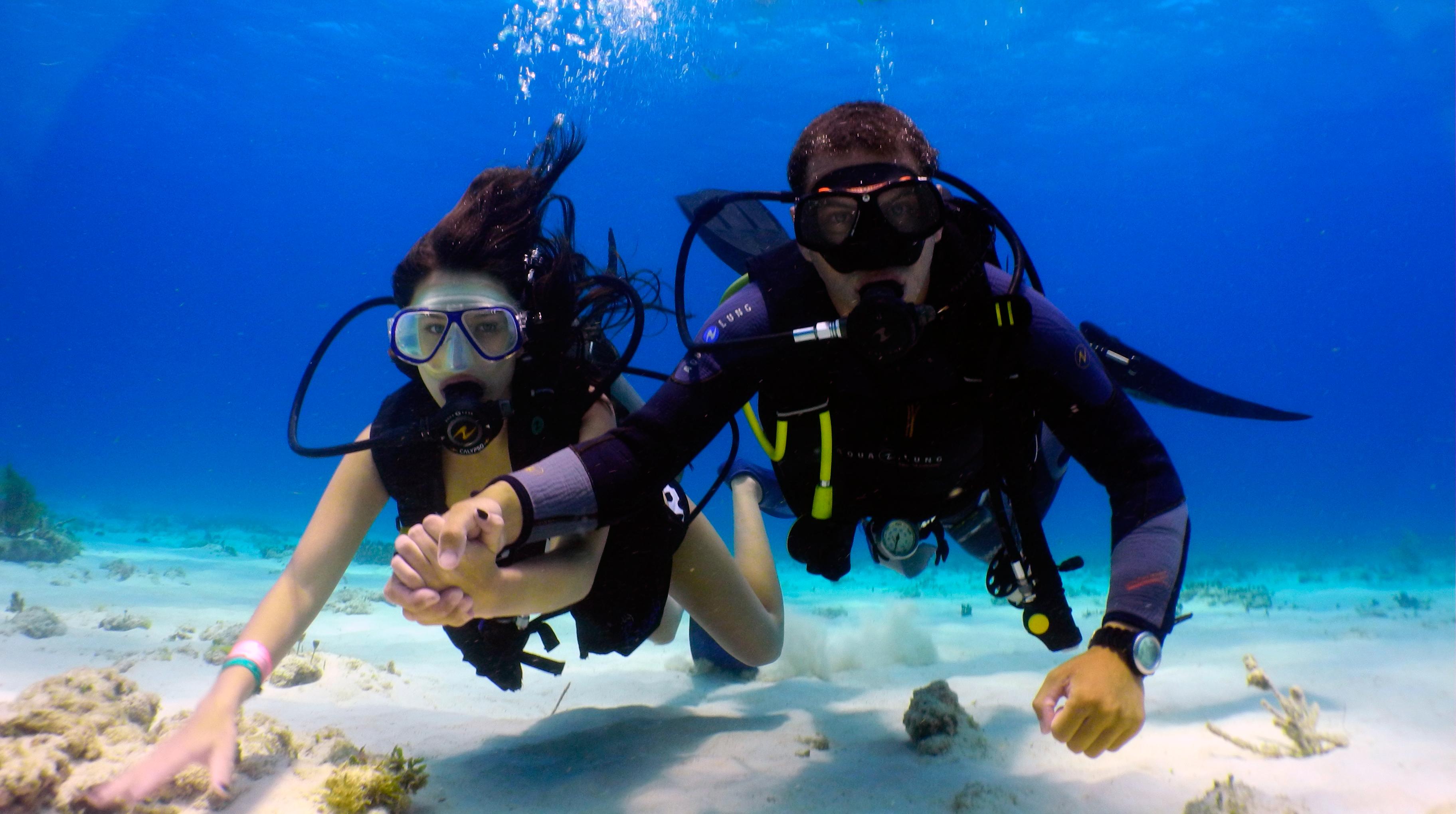 Scuba Diving at Qatar