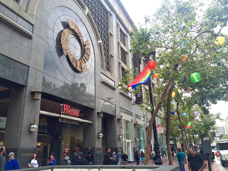 Shopping at Westfield San Francisco Centre