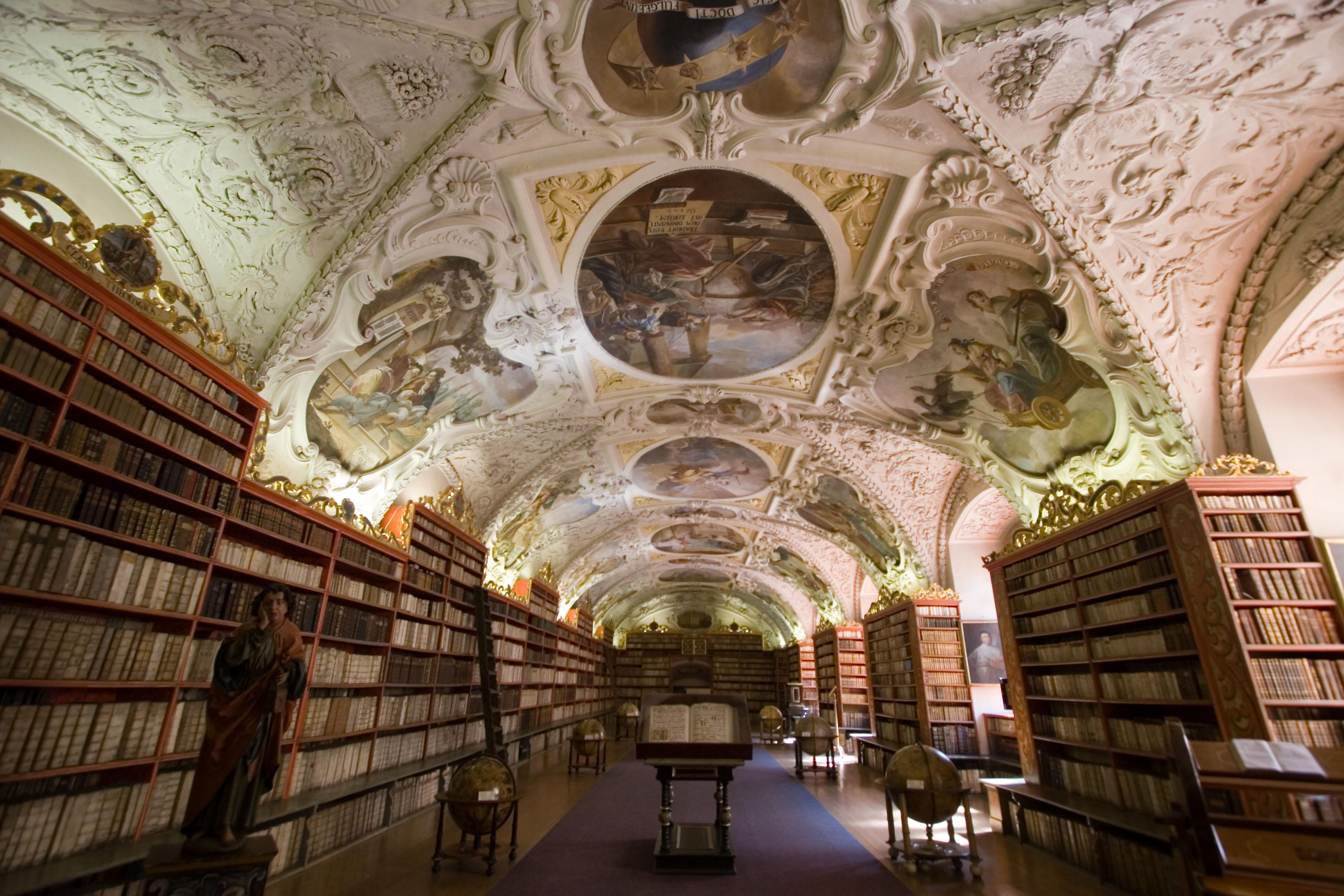 Strahov Monastery and Library (Strahovský kláster)