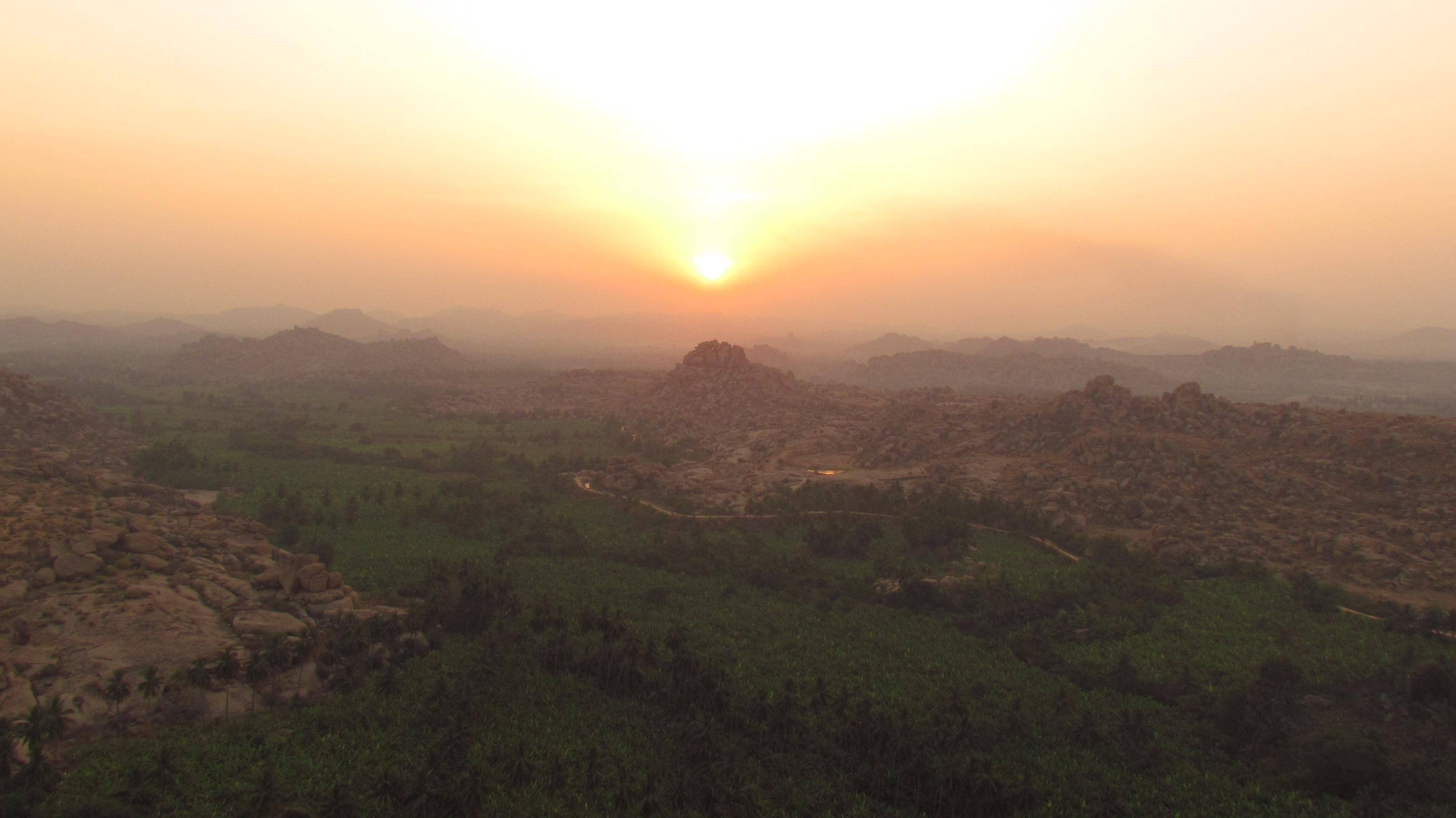 Sunrise from Matanga Hill