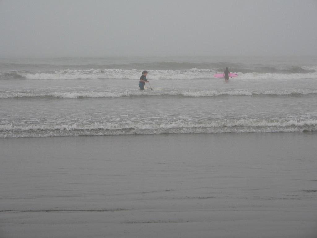 Surfing at Beyt Dwarka