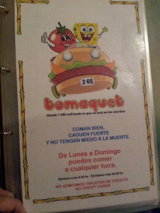 Tomaquet Cafeteria