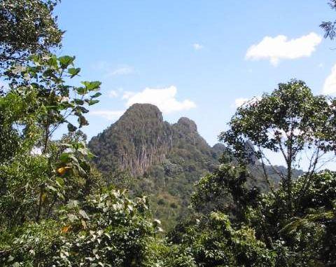 Trekking at Tabur Hill
