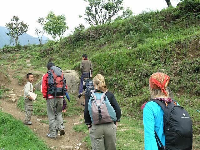 Trekking in Kalimpong