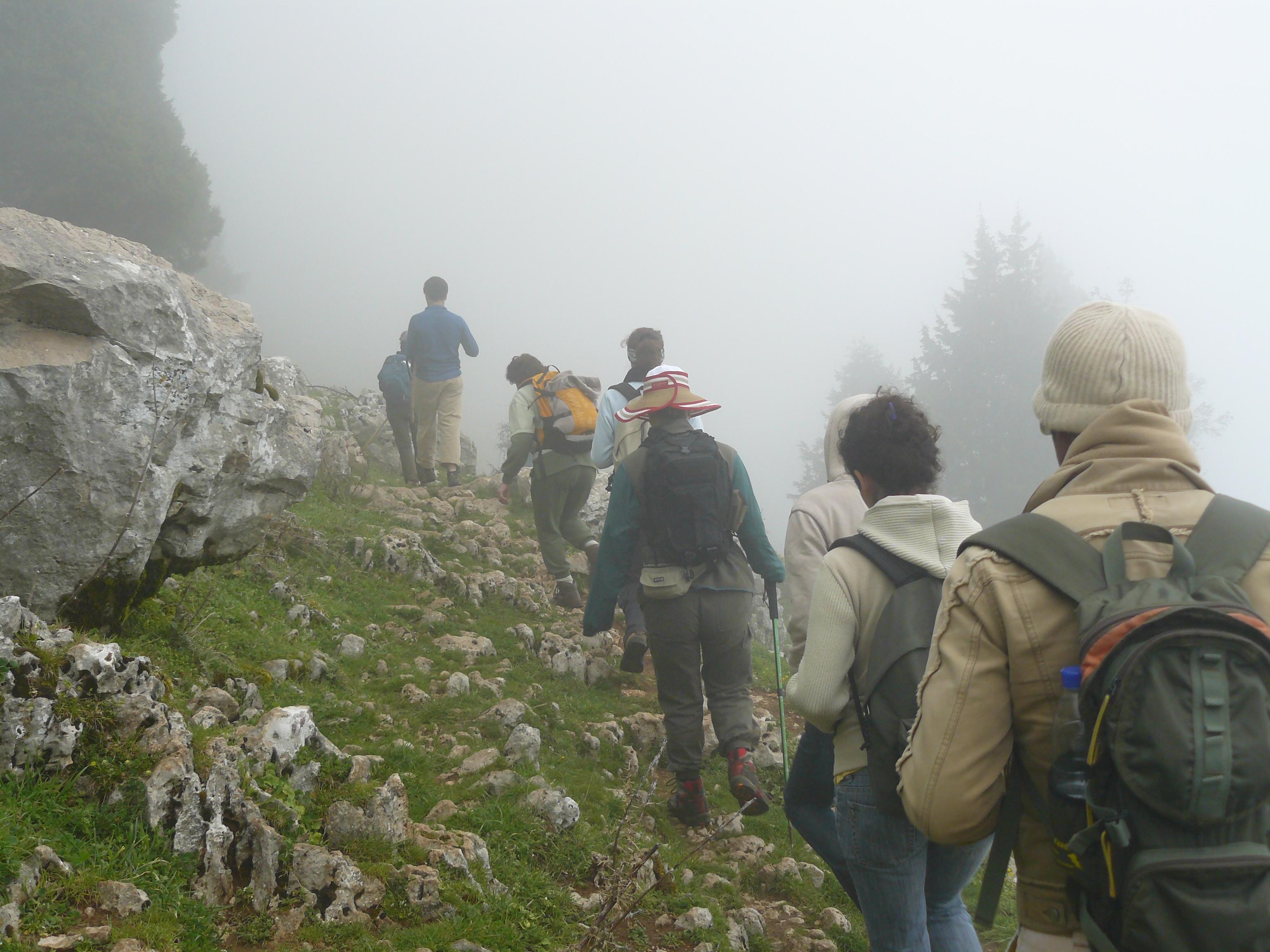 Trekking in Theog