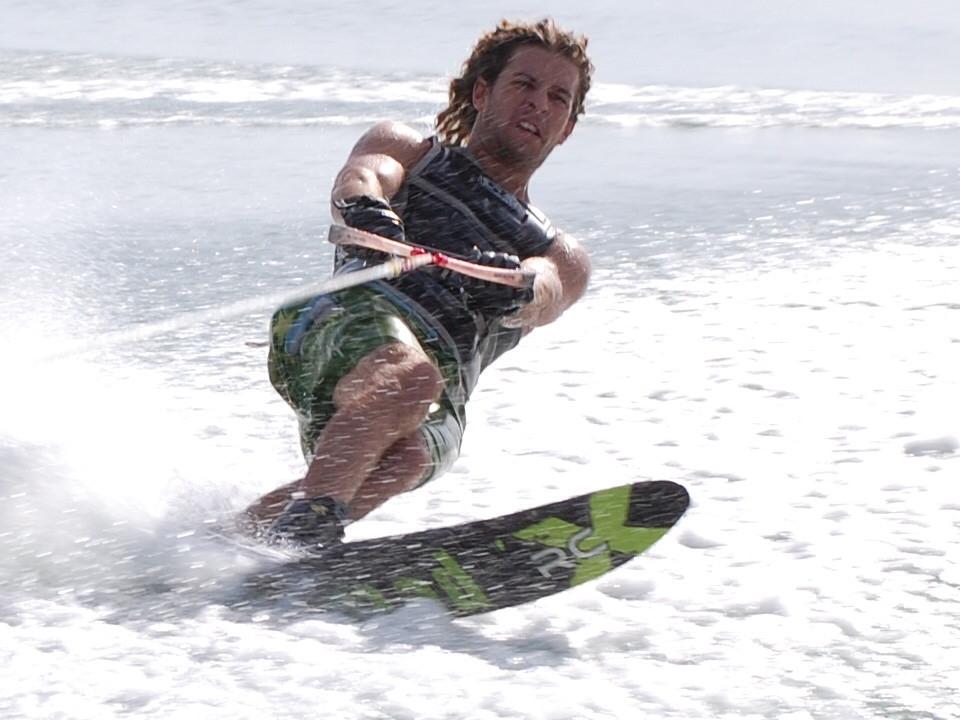 Water Skiing at Utorda