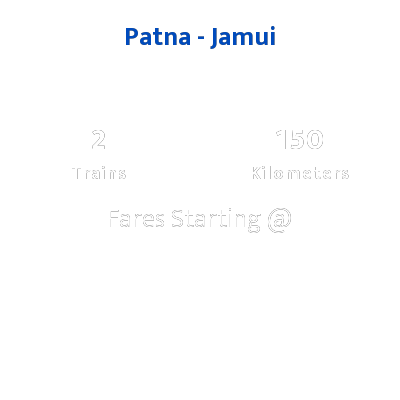 Patna To Jamui Trains